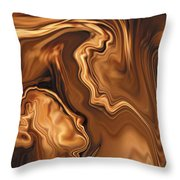 Moment Before The Kiss Throw Pillow