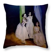 Moment In Wait Throw Pillow