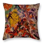 Moment Of Emotions Throw Pillow