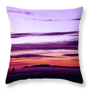Moments Before Sunrise Throw Pillow