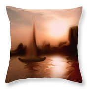Moments I Remember... Throw Pillow