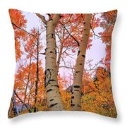 Moments Of Fall Throw Pillow