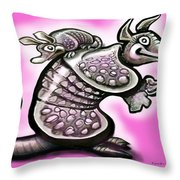 Momma Dillo Throw Pillow