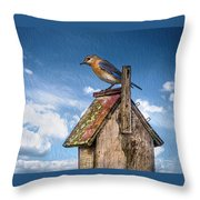 Mommy Time Out Throw Pillow