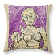 Mommyfied  Throw Pillow