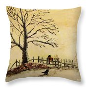 Mom's Calling Throw Pillow