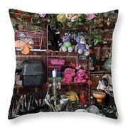 Mom's Cave Throw Pillow
