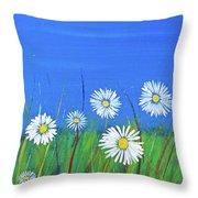Mom's Garden Throw Pillow