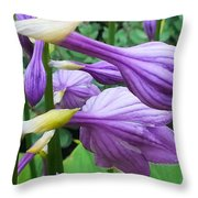 Mom's Garden Throw Pillow