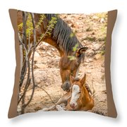 Mom's Love Throw Pillow