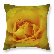 Moms Yellow Rose Throw Pillow