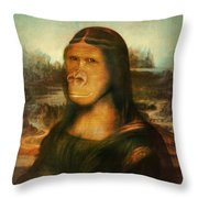 Mona Rilla Throw Pillow