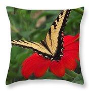 Tiger Beauty Throw Pillow