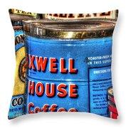 Monarch Maxwell House 761 Throw Pillow