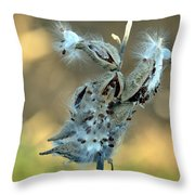 Monarch Seeds Throw Pillow