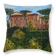 Monastero Throw Pillow