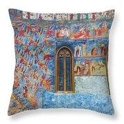 Monastery Angels Throw Pillow