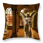 Monastery Angles Throw Pillow