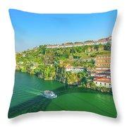 Monastery Serra Do Pilar Throw Pillow