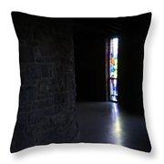 Monastic Entrance Throw Pillow