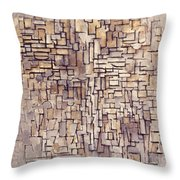 Mondrian: Composition, 1913 Throw Pillow