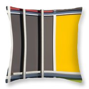 Mondrian Style Throw Pillow