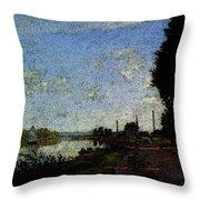 Monet Argenteuil  Throw Pillow