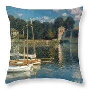 Monet: Argenteuil Throw Pillow