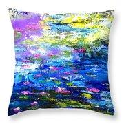 Monet Magic Throw Pillow