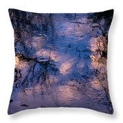Monet On The Water Throw Pillow