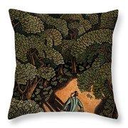 Money Forest Throw Pillow