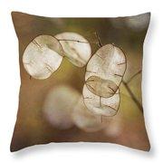 Money Plant Throw Pillow