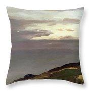Monhegan Island Maine 1911 Throw Pillow