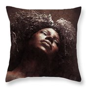 Monique I Throw Pillow