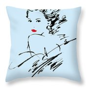 Monique Variant 2 Throw Pillow