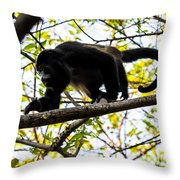 Monkey2 Throw Pillow