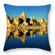 Mono Lake California Sunset - Landscape Throw Pillow
