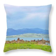 Mono Lake Image Throw Pillow