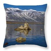 Mono Lake Pano Throw Pillow