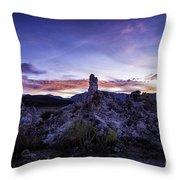 Mono Lake Sunset 4 Throw Pillow