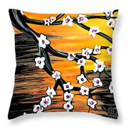 Mono No Aware Throw Pillow