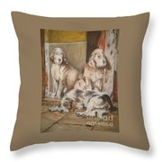 Monotony Throw Pillow