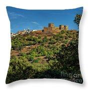 Monsaraz Medieval Town, Portugal Throw Pillow