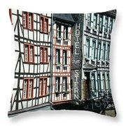 Monschau Hotel Throw Pillow
