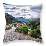 Monserrate - Colombia Throw Pillow