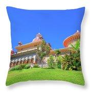 Monserrate Palace Sintra Throw Pillow