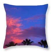 Monsoon Sunset Throw Pillow by James BO  Insogna