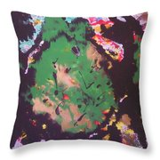 Monster Bug Throw Pillow