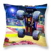 Monster Jam 1 Throw Pillow