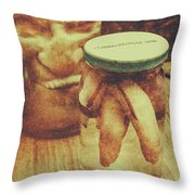 Monster Mementoes And Trophies Throw Pillow